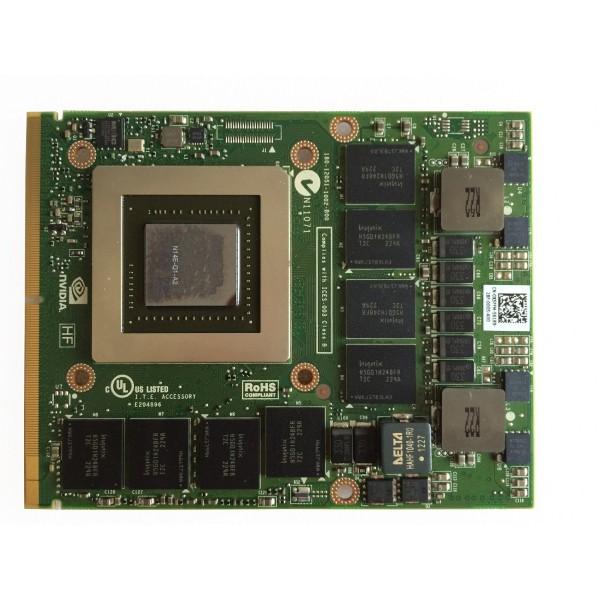 NVIDIA QUADRO K3000M 2GB 256Bit
