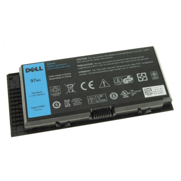 Pin (Battery) Dell Precision M4600, M4700, M4800, M6600, M6700, M6800